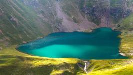 Lac de la Muzelle et lac Lauvitel